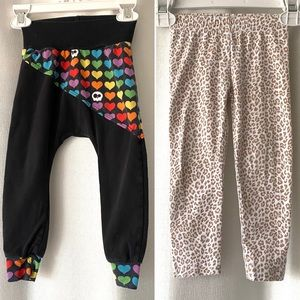 Lot Of 2 Pants Laughing Lemur Shop/Carter's 2T